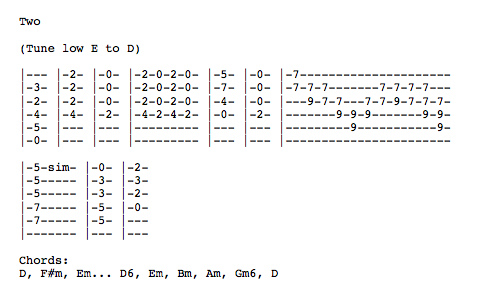 Animal Collective Tab Archive Licensed For Non Commercial Use Only
